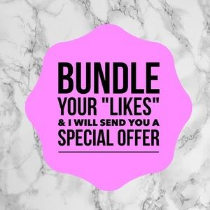 Other - ✨BUNDLE YOUR LIKES FOR A GOOD DEAL!✨